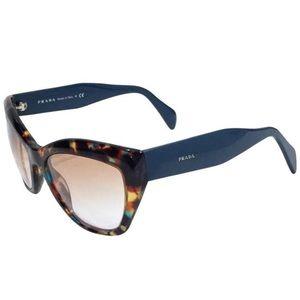 Prada multicolor Havana Poeme sunglasses SPR 02Q
